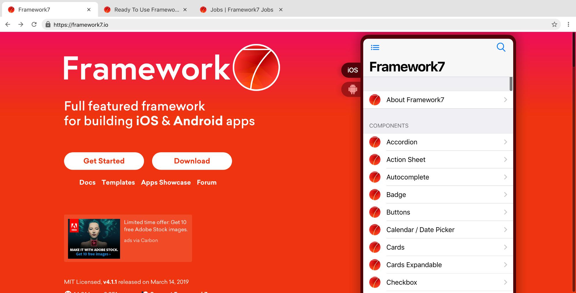 Framework7 - Xu Wenliang